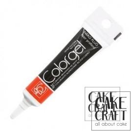 Χρώμα Πάστας της Modecor - Color gel Μαύρο 20g