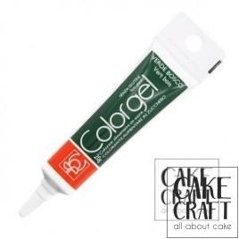 Χρώμα Πάστας της Modecor - Color gel Πράσινο του δάσους 20g