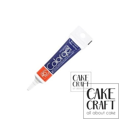 Χρώμα Πάστας της Modecor - Color gel Navy Blue 20g
