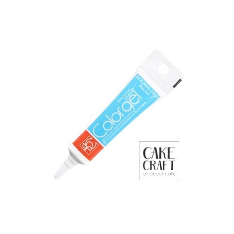 Χρώμα Πάστας της Modecor - Color gel Γαλάζιο 20g