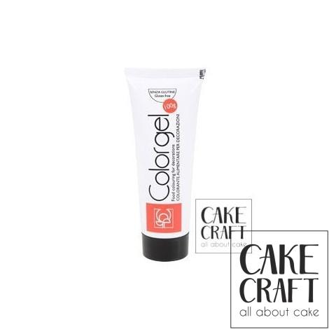 Χρώμα Πάστας της Modecor - Color gel Μαύρο 100g