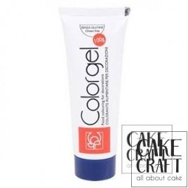 Χρώμα Πάστας της Modecor - Color gel Navy Blue 100g