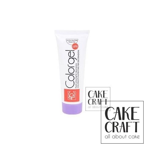 Χρώμα Πάστας της Modecor - Color gel Μωβ 100g