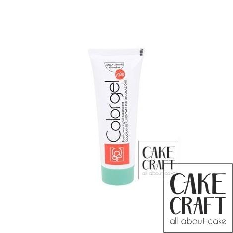 Χρώμα Πάστας της Modecor - Color gel Λαχανι 100g