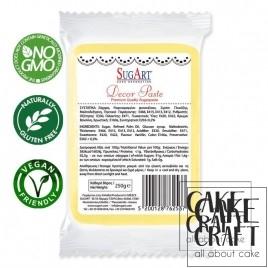 Ζαχαρόπαστα Sugart Κίτρινο 250g