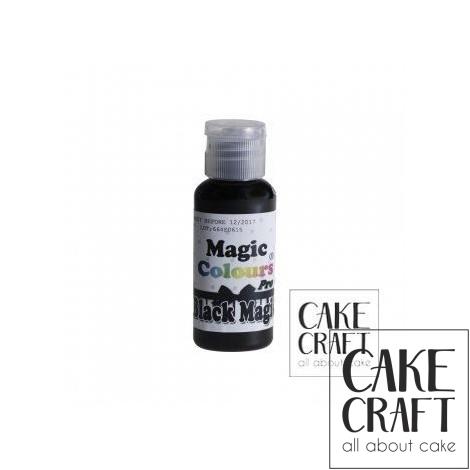 Χρώμα Πάστας της Magic Colours - Μαύρη Μαγεία 32ml (Black Magic)