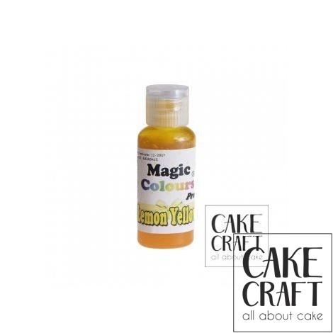 Χρώμα Πάστας της Magic Colours - Κίτρινο του Λεμονιού 32ml (Lemon Yellow)