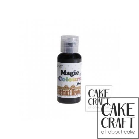 Χρώμα Πάστας της Magic Colours - Καφε Καστανό 32ml (Chestnut Brown)