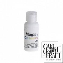 Χρώμα Πάστας της Magic Colours - Σουπερ Λευκό 32ml (Super White)
