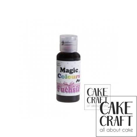Χρώμα Πάστας της Magic Colours - Φούξια 32ml (Fuchsia)