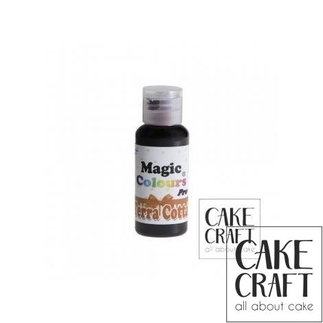 Χρώμα Πάστας της Magic Colours - Τερρακότα 32ml (Terra Cotta)