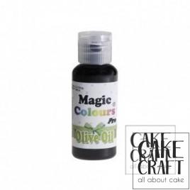 Χρώμα Πάστας της Magic Colours - Πράσινο της Ελιάς 32ml (Olive Oil)