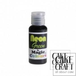 Χρώμα πάστας Neon της Magic Colours - Πράσινο 32ml (Neon Green)