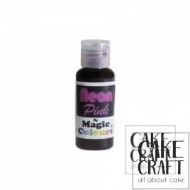 Χρώμα πάστας Neon της Magic Colours - Ροζ 32ml (Neon Pink)