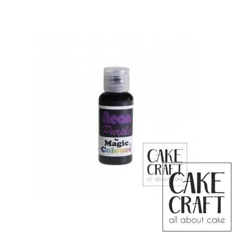 Χρώμα πάστας Neon της Magic Colours - Μωβ 32ml (Neon Purple)