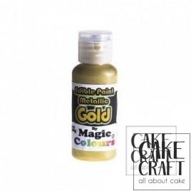 Μεταλλικό Υγρό Χρώμα της Magic Colours - Χρυσό 32ml (Metallic Gold)