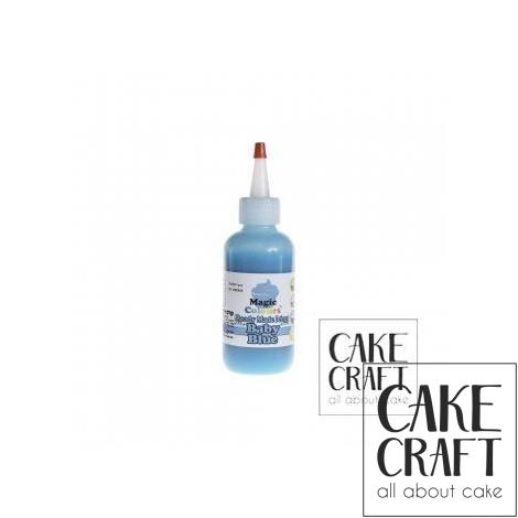 Χρωματιστό Γλάσο έτοιμο προς χρήση - Μπλε 165ml (Blue Icing)