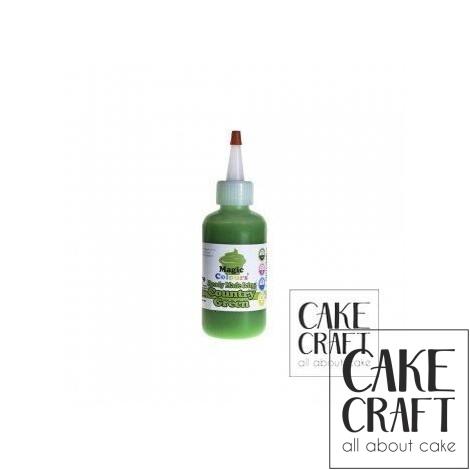 Χρωματιστό Γλάσο έτοιμο προς χρήση - Πράσινο 165ml (Green Icing)