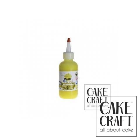 Χρωματιστό Γλάσο έτοιμο προς χρήση - Κίτρινο 165ml (Yellow Icing)