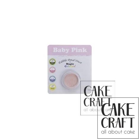 Χρώμα σε σκόνη της Magic Colours - Ροζ Βαπτιστικό 7ml (Baby Pink )