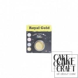 Χρώμα Φινιρίσματος σε σκόνη της Magic Colours - Βασιλικό Χρυσό 7ml (Royal Gold)
