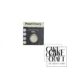 Χρώμα Φινιρίσματος σε σκόνη της Magic Colours - Ιβουάρ Περλέ 7ml (Pear Ivory)