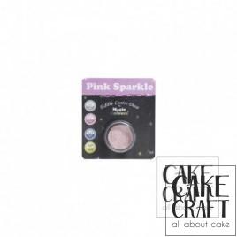 Χρώμα Φινιρίσματος σε σκόνη της Magic Colours - Λαμπιρίζων Ροζ 7ml (Pink Sparkle)