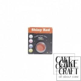 Χρώμα Φινιρίσματος σε σκόνη της Magic Colours - Κόκκινο Γυαλιστερό 7ml (Shiny Red)