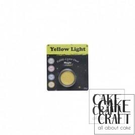 Χρώμα Φινιρίσματος σε σκόνη της Magic Colours - Φωτεινό Κίτρινο 7ml (Yellow Light)