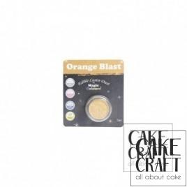 Χρώμα Φινιρίσματος σε σκόνη της Magic Colours - Λαμπιρίζων Πορτοκαλί 7ml (Orange Blast)