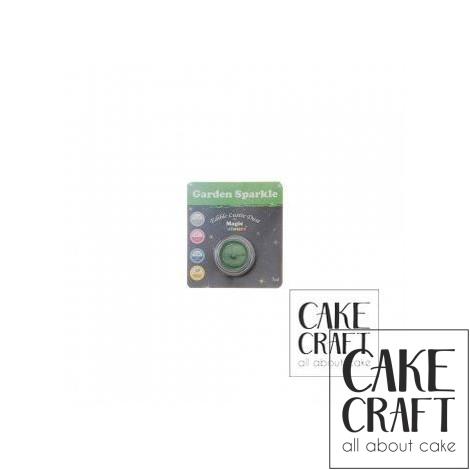 Χρώμα Φινιρίσματος σε σκόνη της Magic Colours - Λαμπιρίζων Πράσινο 7ml (Garden Sparkle)