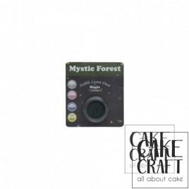 Χρώμα Φινιρίσματος σε σκόνη της Magic Colours - Λαμπιρίζων Πράσινο του Δάσους 7ml (Mystic Forest)