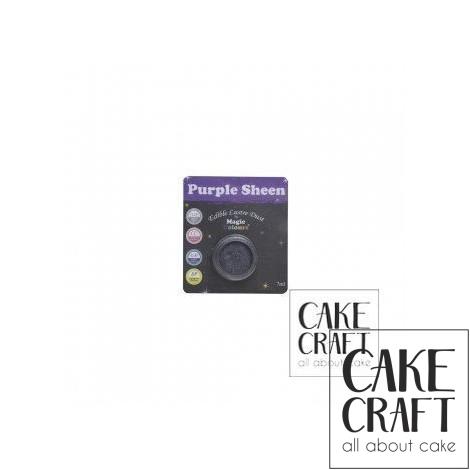 Χρώμα Φινιρίσματος σε σκόνη της Magic Colours - Μωβ Γυαλιστερό 7ml (Purple Sheen)