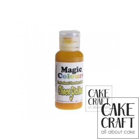 Βρώσιμα Χρώματα Σοκολάτας της Magic Colours - Κίτρινο 32ml