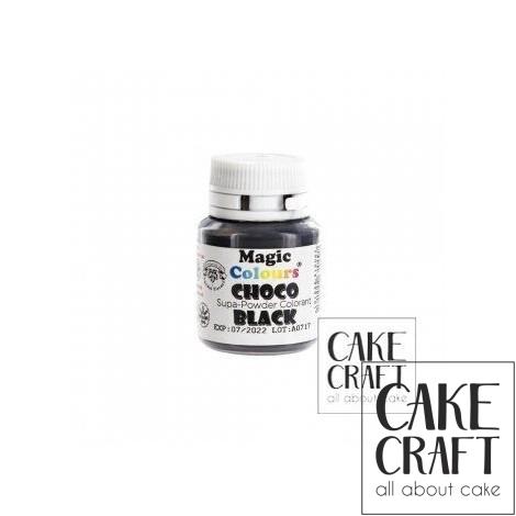 Βρώσιμα Χρώματα Σοκολάτας σε σκόνη της Magic Colours - Μαύρο