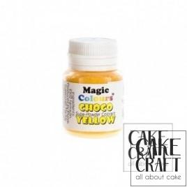 Βρώσιμα Χρώματα Σοκολάτας σε σκόνη της Magic Colours - Κίτρινο
