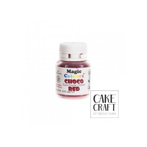 Βρώσιμα Χρώματα Σοκολάτας σε σκόνη της Magic Colours - Κόκκινο