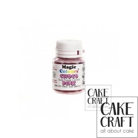 Βρώσιμα Χρώματα Σοκολάτας σε σκόνη της Magic Colours - Ροζ